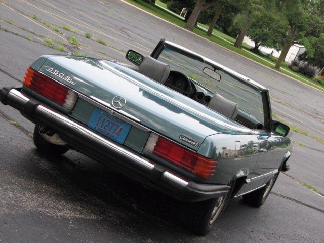 1980 mercedes benz 450sl 2 tops convertible excellent for Mercedes benz 450sl interior parts