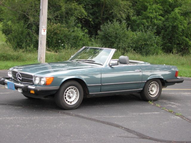 1980 Mercedes Benz 450sl 2 Tops Convertible Excellent