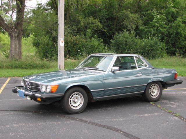 1980 mercedes benz 450sl 2 tops convertible excellent for Mercedes benz second hand parts