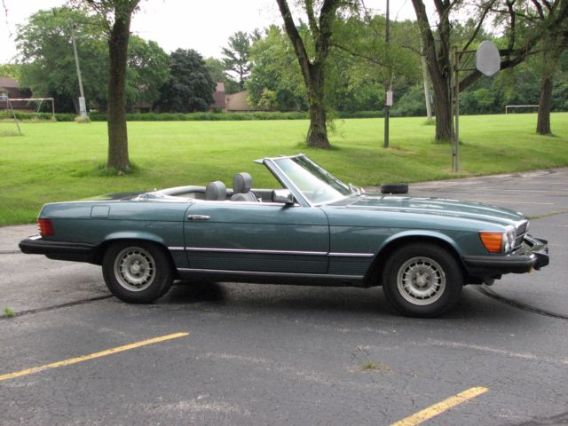 1980 mercedes benz 450sl 2 tops convertible excellent for Mercedes benz parts by vin number