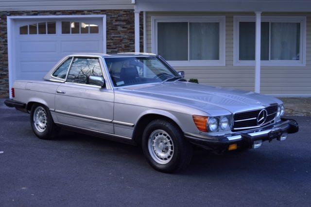 1980 mercedes benz 450sl one owner garage kept service for Mercedes benz service price
