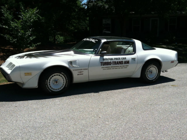 1980 Pontiac Firebird Trans Am Indy Daytona 500 Pace Car