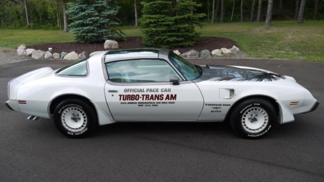 Pontiac Trans Am Pace Car Only Actual Miles Documented on 1980 pontiac trans am 301 4 9 liter