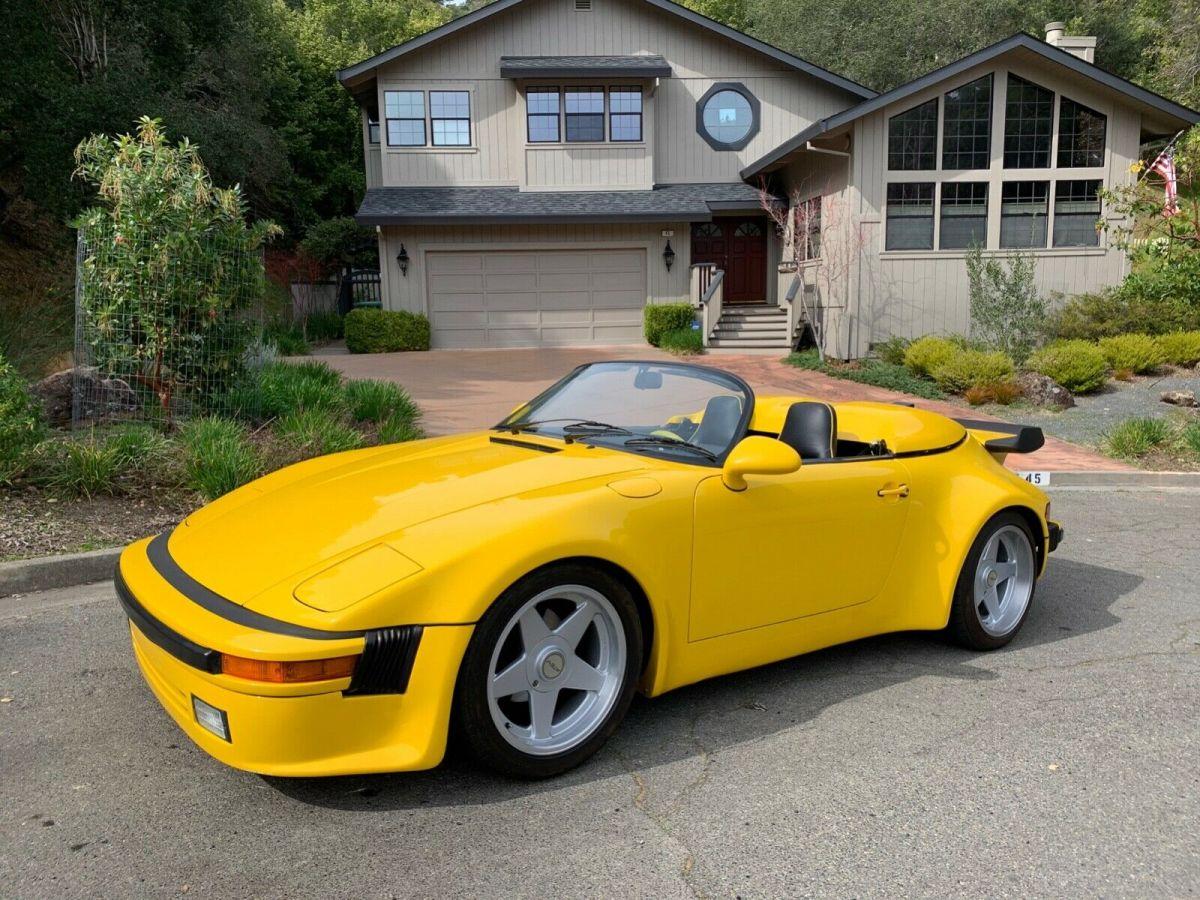 1980 Porsche 911 Turbo Slant Nose Speedster 66k Original Miles For Sale Photos Technical Specifications Description