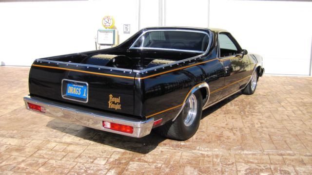 1980 Royal Knight El Camino Pro Street Touring 427 4 Speed