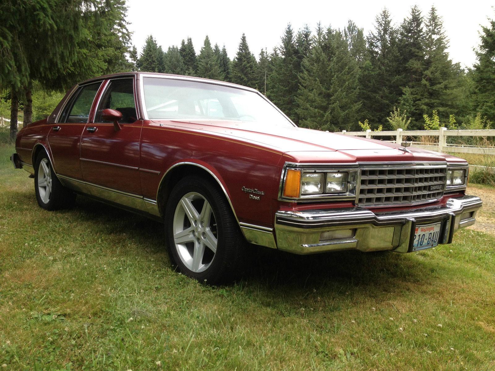 Chevrolet Caprice Classic Sedan Door L Diesel