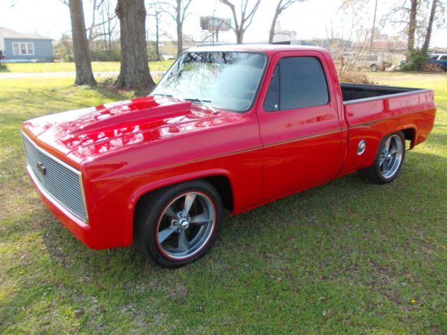 1981 chevy c10 silverado street rod cruiser show truck cold a c new resto. Black Bedroom Furniture Sets. Home Design Ideas