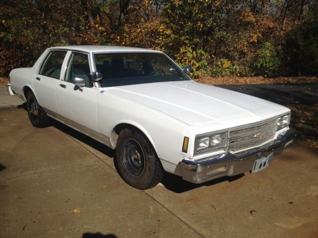 1981 chevy impala police car 9c1 pursuit interceptor unmarked chevrolet caprice for sale in. Black Bedroom Furniture Sets. Home Design Ideas