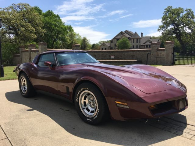 1981 Corvette C3 L81 Last Year Produced In St Louis Mo