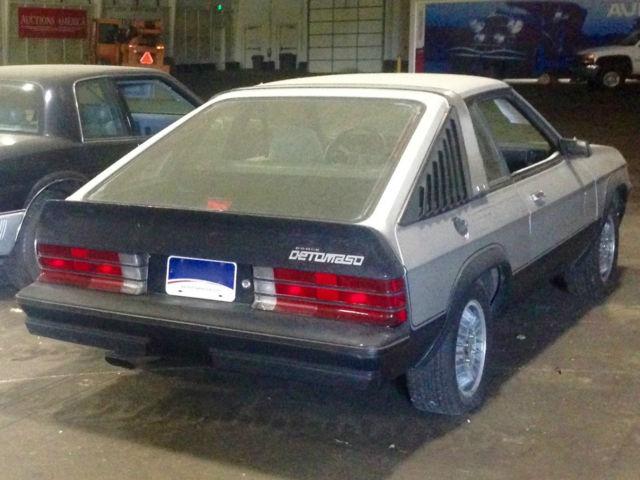 1981 Dodge OMNI 024 Detomaso 1 of 619 No Reserve Automatic 2.2 4cyl RARE for sale in Fort Wayne ...