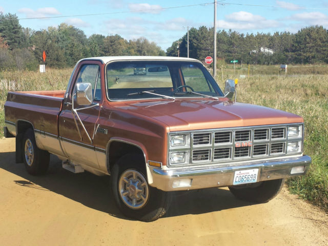 1981 Gmc Sierra Grande Pickup 41000 Mi All Original