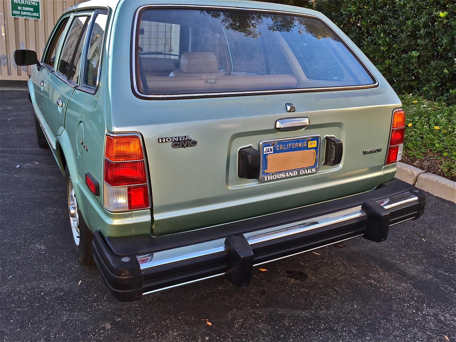 1981 honda civic station wagon