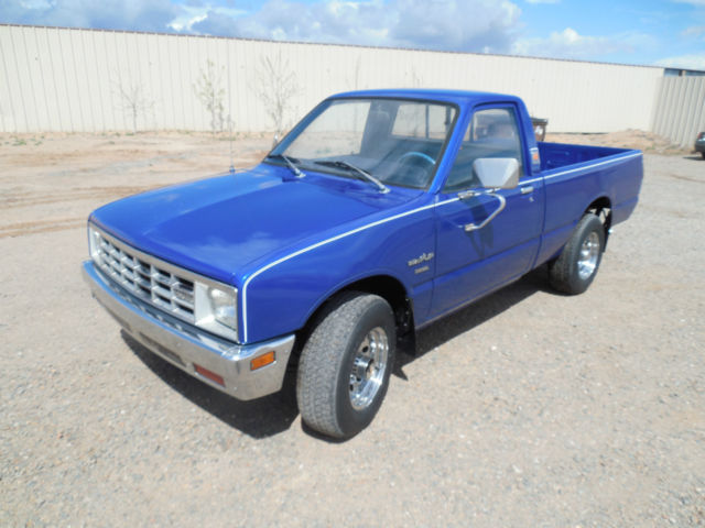 1981 isuzu pup pickup diesel 4 wheel drive for sale in. Black Bedroom Furniture Sets. Home Design Ideas