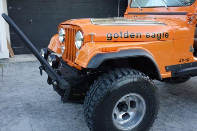 Jeep Cj L Engine Speed Manual Lift W Tires New Paint