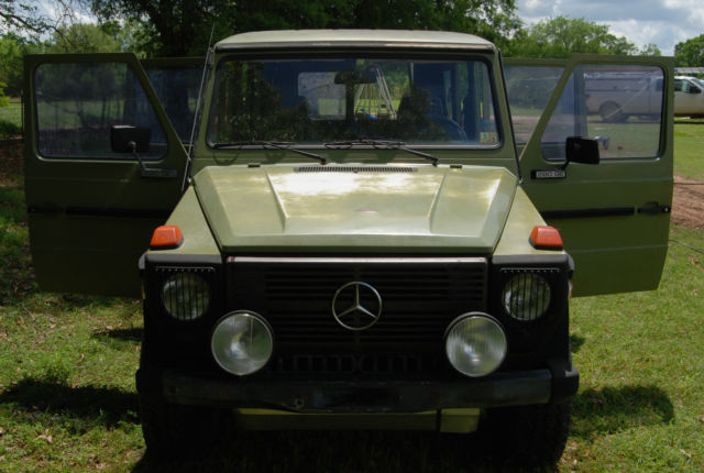 1981 mercedes benz 280ge g wagon 2 8l standard trans gas 7 for Mercedes benz 7 seater for sale