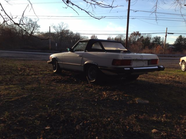 1981 mercedes benz 380 sl roadster low miles never for Mercedes benz of fort washington pennsylvania
