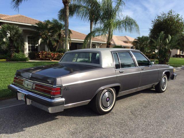 1982 Buick Electra Park Avenue Sedan 4 Door 5 7l Diesel