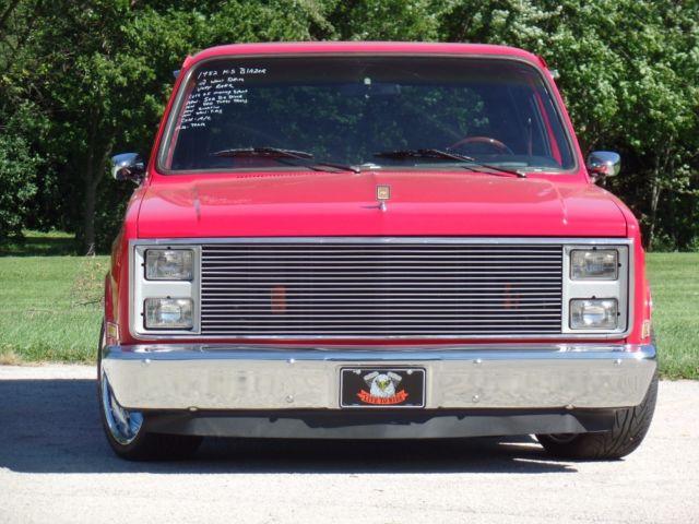 1982 Chevrolet Blazer K5 502 Big Block Street Thumper