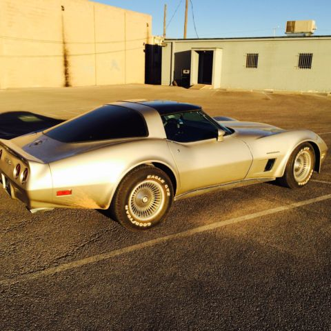 1982 chevrolet corvette collectors edition cross fire beige used camaro mustang for sale in. Black Bedroom Furniture Sets. Home Design Ideas