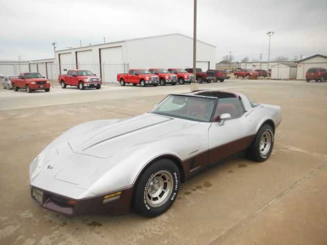 1982 chevrolet corvette t tops for sale in enid oklahoma united states. Black Bedroom Furniture Sets. Home Design Ideas