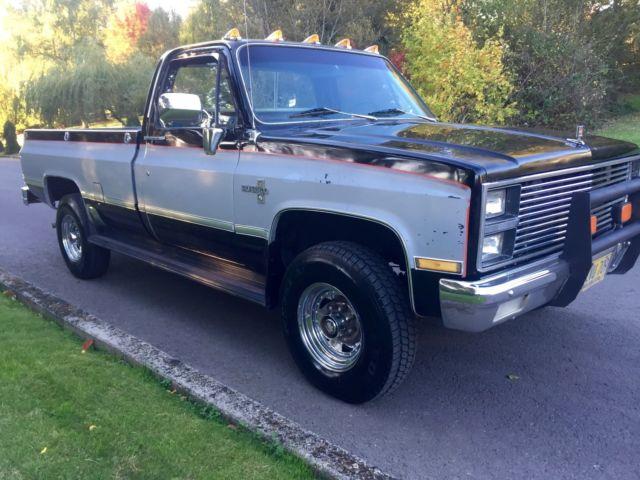 Used Chevy Silverado 2500 >> 1982 Chevrolet Silverado 3/4 TON 4X4 95K ORIGINAL MILES ...