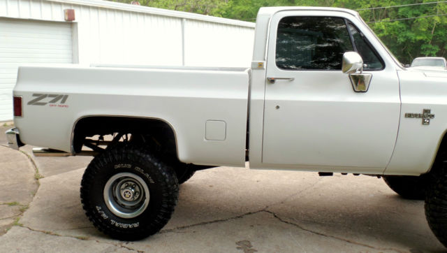 "1982 CHEVY 4X4 TRUCK FRAME OFF 454 BIG BLOCK 35'S 6"" LIFT ..."