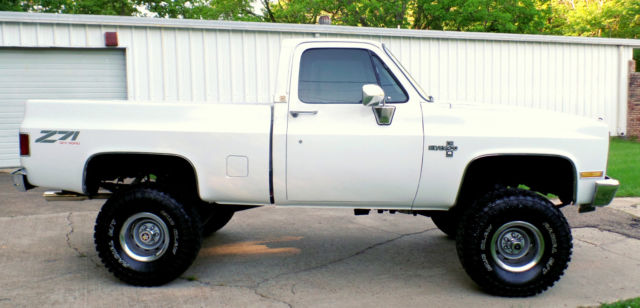 Chevy X Truck Frame Off Big Block S Lift New Tires Interior Etc