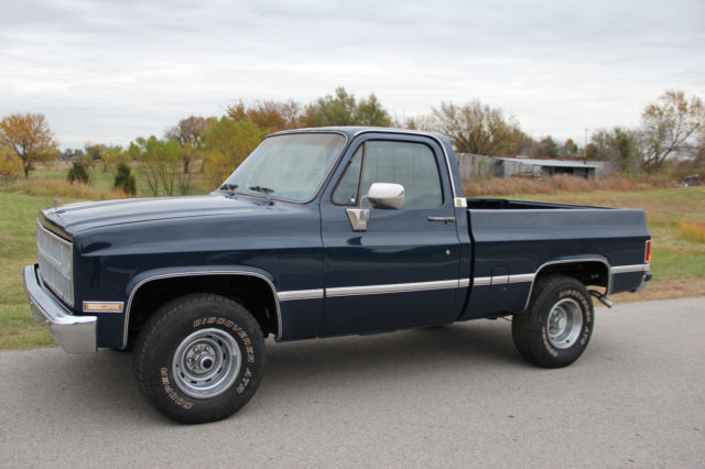 1982 Chevy Short Wide 4x4 With Ac For Sale In Collinsville