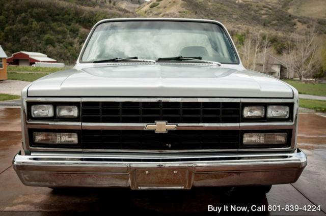 1982 Chevy Truck Silverado C10 - SHORT BED, REBUILT 350 V8 ...