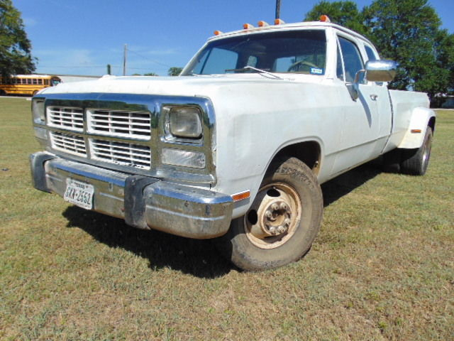 1982 Dodge Ram D350 12 Valve Cummins Diesel Club Cab Dually Prospector Cold A  C For Sale  Photos