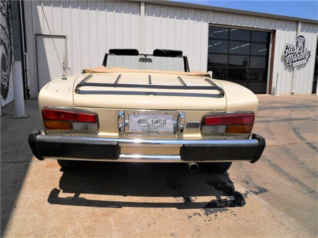 1982 fiat 2000 spider pininfarina 124 convertible gas for Garage auto 2000 wimille