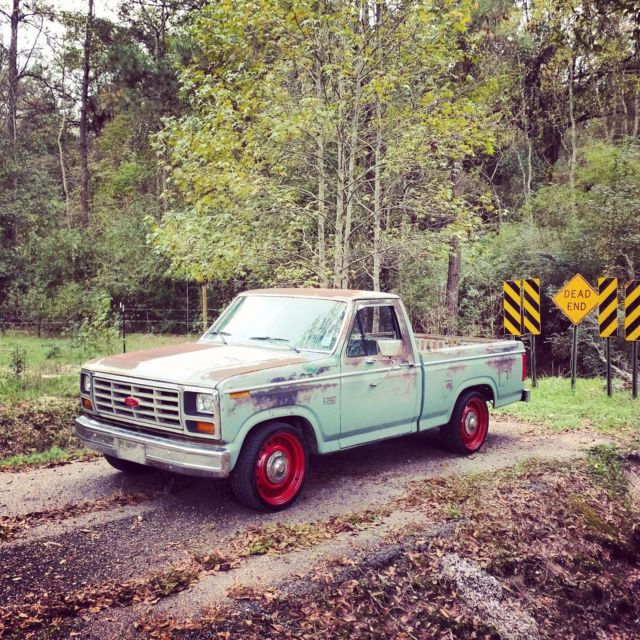 1982 ford f150 f100 rat rod no reserve for sale in tickfaw louisiana united states. Black Bedroom Furniture Sets. Home Design Ideas