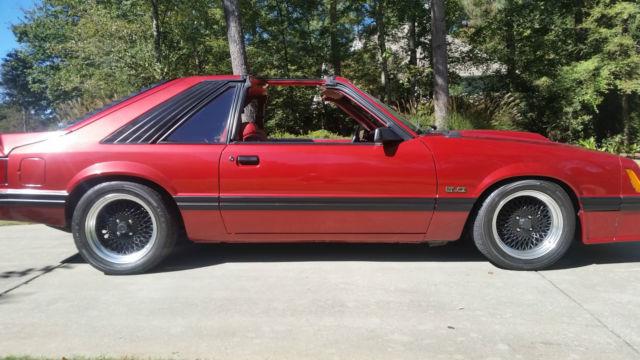 1982 Ford Mustang Gt Maroon 2 Door Hatchback 5 0 Liter 302 4 Speed