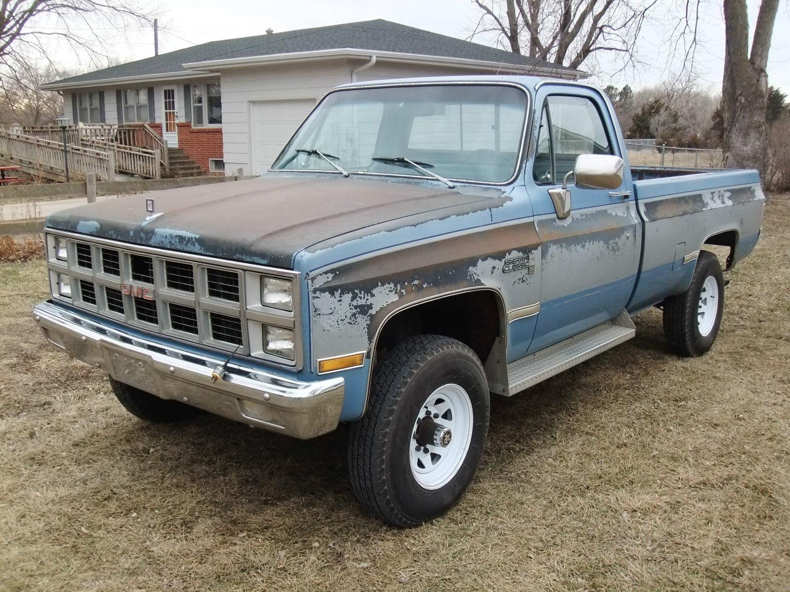 1982 gmc k2500 4x4 6 2l diesel oem paint 99 rustfree chevrolet c k pickup 2500 for sale in york. Black Bedroom Furniture Sets. Home Design Ideas