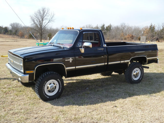 1982 K30 Silverado SRW 4x4 4-speed Chevrolet Pickup for ...
