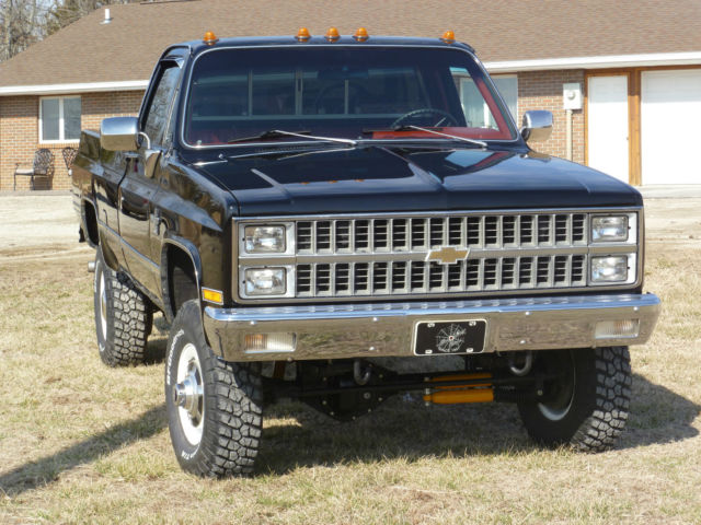 1982 k30 silverado srw 4x4 4 speed chevrolet pickup for. Black Bedroom Furniture Sets. Home Design Ideas