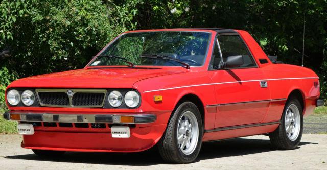 1982 lancia zagato spyder european italian tons of extras clean!