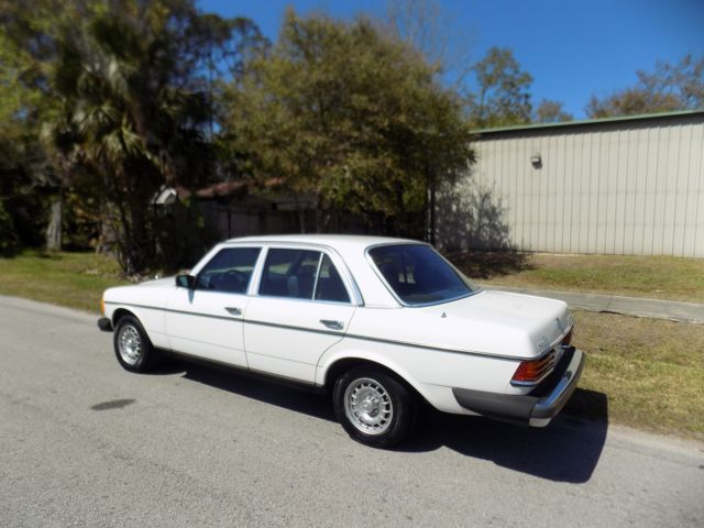 1982 Mercedes 300 Turbo Diesel With Only 65 K Miles 2