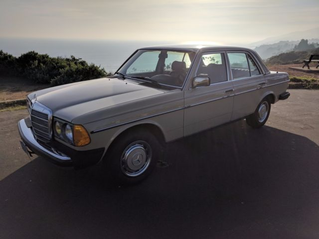 1982 mercedes benz 240d one owner like new for Mercedes benz 240 d
