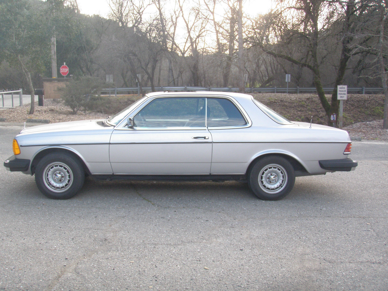 1982 Mercedes Benz, 300CD, Turbo-Diesel coupe, California