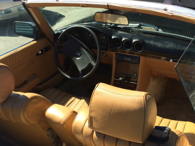 1982 mercedes benz 380 sl convertible for sale in richmond virginia united states. Black Bedroom Furniture Sets. Home Design Ideas