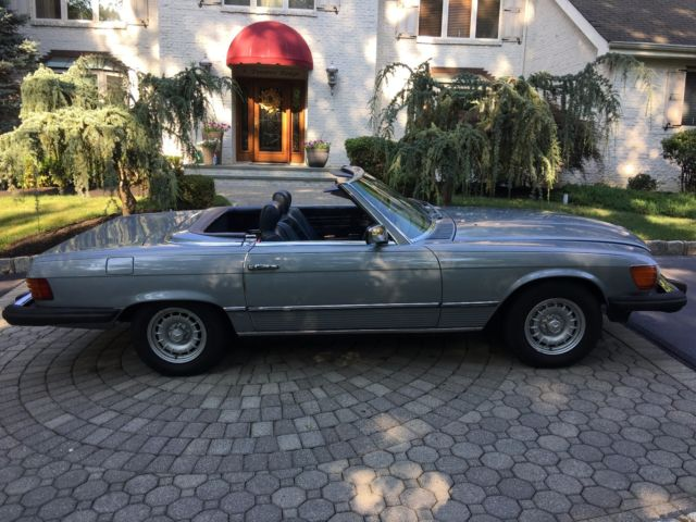 1982 mercedes benz sl class 380sl convertible r107 450sl for Mercedes benz sl 350 price