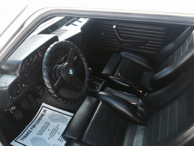 1983 bmw 320i e21 2dr 5 speed 1 owner car must see garaged kept recaro seats for sale in. Black Bedroom Furniture Sets. Home Design Ideas
