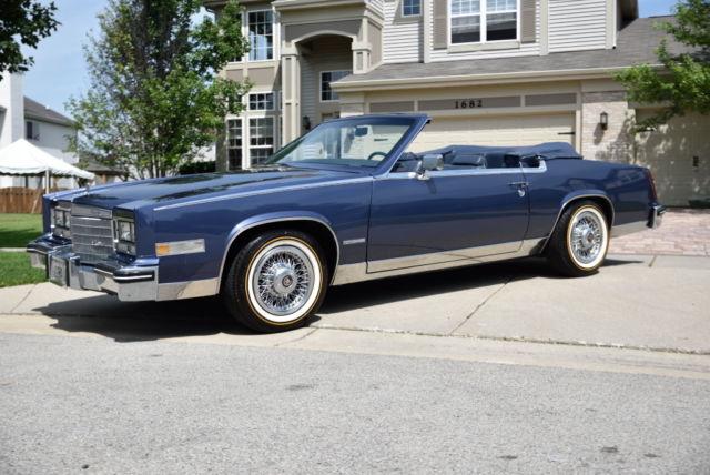 1983 cadillac eldorado convertible for sale photos technical specifications description classiccardb com