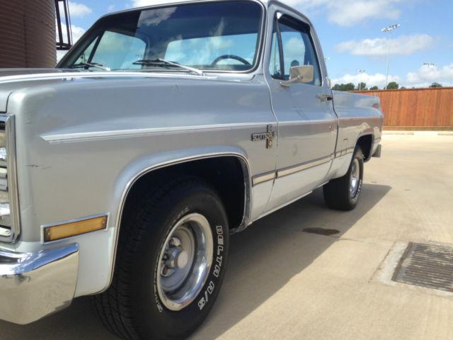 1983 chevrolet c10 custom standard cab pickup 2 door 5 0l for 10 door truck