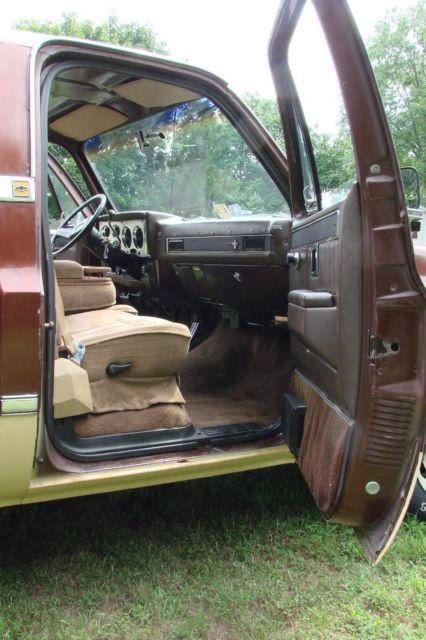 1983 Chevrolet C10 Scottsdale Truck Pickup 350 V8 Auto
