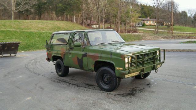 1983 Chevrolet K5 Military Blazer M1009 for sale in