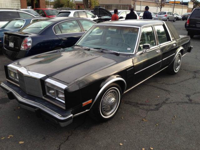 1983 Chrysler New Yorker Fifth Avenue ONLY 23,876 miles ...  |1983 Chrysler New Yorker Interior
