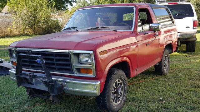 1983 ford bronco very nice project for sale in rock falls illinois united states. Black Bedroom Furniture Sets. Home Design Ideas