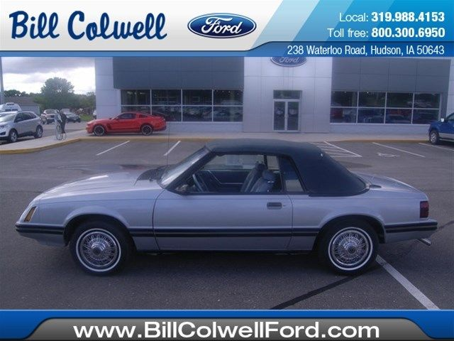 1983 ford mustang glx convertible 2 door 3 8l for sale in hudson iowa united states. Black Bedroom Furniture Sets. Home Design Ideas